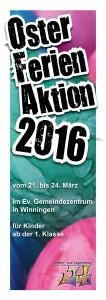 Deckblatt Ausschreibung OFA 2016